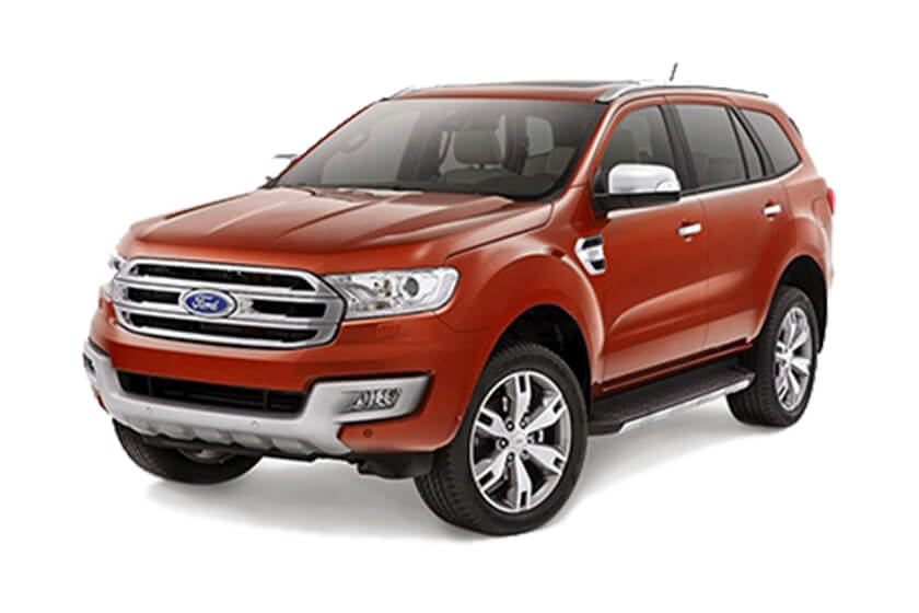 Ốp tay cửa xe Ford Everest