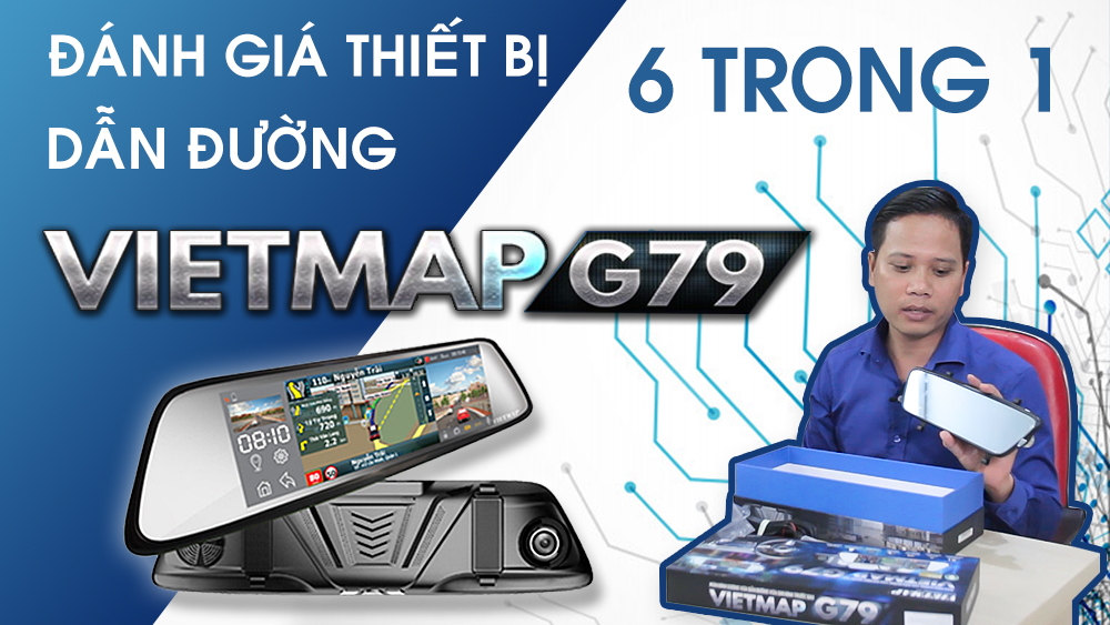 Video đánh giá camera Vietmap G79